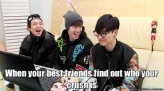 Friends are the reason why your crush will know you have a crush on them >< || Meme Center | allkpop