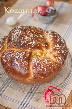 Kozounak (Козунак) - brioche de Pâques bulgare