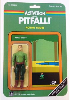 Atari Action Figure – Les jouets inspirés du retro-gaming