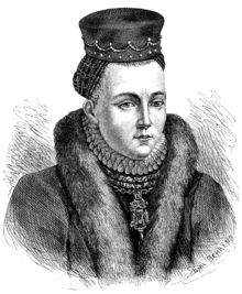 Christina Gyllenstierna (1494/5 - January 1559) led an uprising in Sweden to overthrow the (effective) control of Sweden by a Danish king, Christian II. After her husband was killed in battle, she took command of the defense of Stockholm. Christina was eventually forced to surrender, but negotiated terms that provided a general amnesty to herself and everyone else involved in the uprising. Christina became a national symbol of Swedish patriotism.