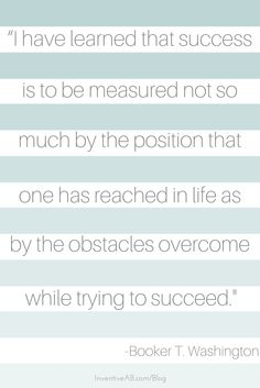 #MotivationalQuote Monday Continue to believe in yourself and your work because the obstacles you face today are part of your future success story. @InventiveAB