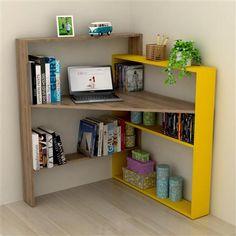 24 Ideas Kids Furniture Design Bookshelves Small Spaces for small spaces kids Corner Furniture, Kids Furniture, Furniture Design, Deco Design, Home Office Design, Furniture Makeover, Small Spaces, Diy Home Decor, Bedroom Decor