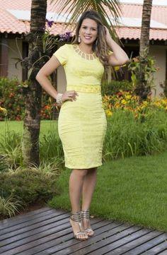 TUBINHOS - Floratta Modas Diy Dress, Dress Skirt, Dress Outfits, Fashion Dresses, Bodycon Dress, Tight Dresses, Cute Dresses, Short Dresses, Girls Dresses