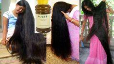 Huile secrète des indiens pour la pousse rapide des cheveux - YouTube