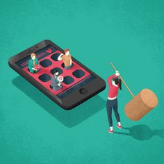 Another illustration for talkspace. how stressful it can be dating today in the world filled with dating apps? Creative Illustration, Landscape Illustration, Digital Illustration, Graphic Illustration, Medicine Illustration, Storyboard, Satirical Illustrations, Illustrations Posters, Isometric Design