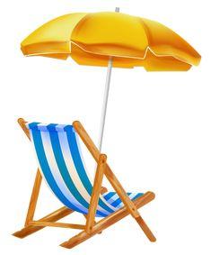transparent beach lounge chair png clipart pinterest rh pinterest co uk beach chair clip art free beach chair and umbrella free clipart