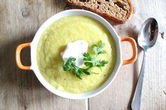 pastinaak courgette soep