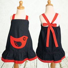 Girls dress pattern PDF, Childrens sewing pattern, baby sewing pattern, Instant Download, Kids Toddler, The Robin Dress