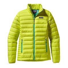 Patagonia Women  s Down Sweater Jacket - Chartreuse CHRT Vestiti Per Le  Donne 8d70905b424a