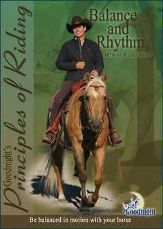 Goodnight's Principles of Riding: Balance & Rhythm in the Saddle DVD  NEW