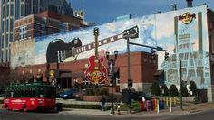 Hard Rock Cafe- Downtown Nashville,TN - I have been to The hard rock, neat place! southernliving