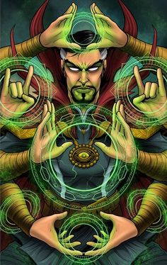 Drawing Marvel Comics Image of Sorcerer Style - This is an print of everyone's favorite sorcerer of the mystic arts. These prints set the benchmark of high quality in the. Marvel Avengers, Marvel Comics Art, Marvel Heroes, Marvel Comic Universe, Comics Universe, Marvel Cinematic Universe, Marvel Doctor Strange, Heroine Marvel, Avengers Wallpaper