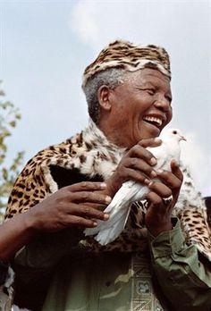 Iconic Nelson Mandela
