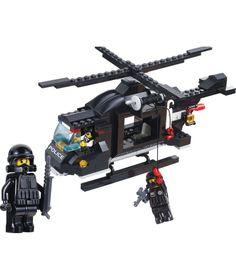 Sluban Вертолёт полиции 219 дет