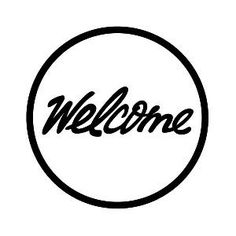 Logo for Welcome, skate shop in Leeds