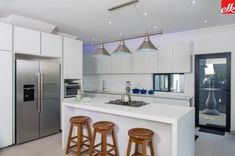 Easylife Kitchens Is A premium Kitchen Manufacturing and Design Company With Over 26 Years Experience, We install Kitchen, Bathroom Vanities and Built in Cupboards Kitchen Units, Open Kitchen, Built In Cupboards, Life Kitchen, Storage Design, Kitchen Trends, Kitchen Lighting, Cool Kitchens, Interior Design