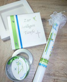 #Taufbrief passend zur #Taufkerze 100 % HANDARBEIT Foto & Design © by Sigrid Kiesenhofer