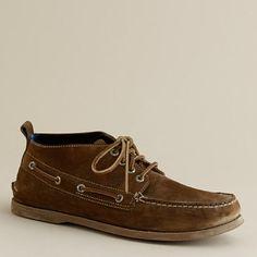Sperry Top-Sider Authentic Original nubuck chukka boots, J.Crew, $125