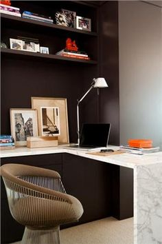 Love this mod little workspace by Tony Cappoli