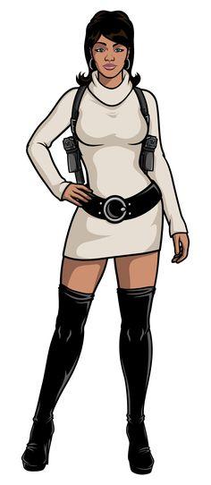 Lana Kane form the excellent TV show Archer