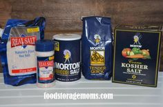 Have You Thought About The Many Uses Of Salt? By Food Storage Moms