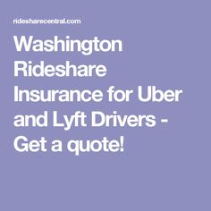 Lyft Quote Extraordinary San Diego Rideshare Insurance For Uber And Lyft Drivers