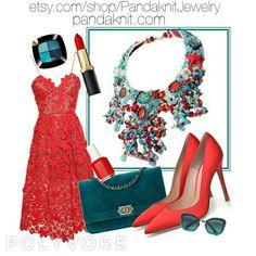 Unique Jewelry with Gemstones and Swarovski, Handmade by PandaknitJewelry Crystal Beads, Crystals, Handmade Necklaces, Handmade Gifts, Pearl Gemstone, Swarovski, Shell, Coral, Fashion Looks