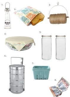 I want pretty much all of these things (mostly the tiny berry box & Weck jars)