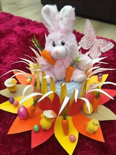 Handmade Easter bonnet / Hat Greedy Easter Bunny in Home, Furniture & DIY, Celebrations & Occasions, Other Celebrations & Occasions | eBay!