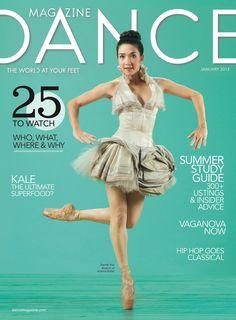 Atlanta Ballett Cover of Dance Magazine Rachel Van Buskirk. ✯ Ballet beautie…