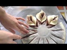 How To Make Chocolate Swirl Cupcakes Nutella Star Bread, Braided Nutella Bread, Braided Bread, Butter Sponge Cake Recipe, Sponge Cake Recipes, Chocolate Swirl, How To Make Chocolate, Panettone Bread, Brioche Bread