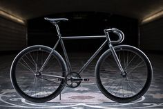 State Bicycle Co. Matte Black 5 Fixed Gear Single Speed Bike