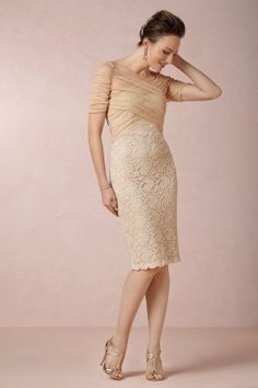 Lovely dress: BHLDN - this would be a great dress to wear to a wedding or formal event this spring or summer.