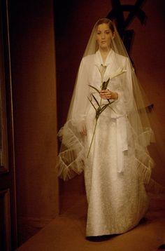 ysl wedding dress