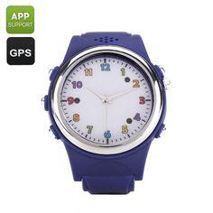 c0e1e426593 Relógios Inteligentes Crianças Watch Phone com GPS Tracker - SOS