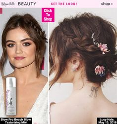 Lucy Hale's Braided Updo — Get Her Perfect, Sweet Style For Summer