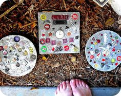30 Beautiful DIY Stepping Stone Ideas to Decorate Your Garden --> Funny Stepping Stones #garden #decor #stepping_stone
