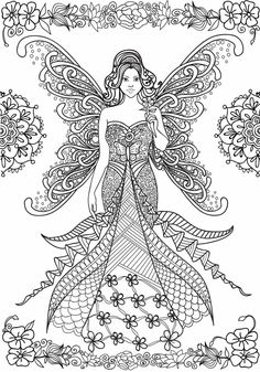 64 Best Angels Coloring Pages For Adults Images Angel