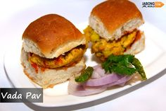 Considered as the Indian version of burger, #VadaPao is the most popular road side food straight from the heart of Maharashtra.  It is the most loved and ultimate staple food item, consists of a fried potato dumplings called vada served in a bun, pav with condiments such as red or green chutneys and fried green chillies.