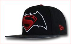 9258a4610b8 Batman Vs Superman Symbol 950 Snapback Hat Batman Vs Superman Symbol