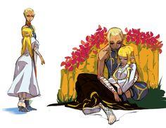 Impa and Zelda
