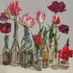 Tulips II. Lucy Culliton - Bibbenluke Flowers exhibition