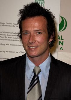 Scott Weiland of Stone Temple Pilots during Global Green USA Releases Climate Change Report Calls on President Bush to Attend Upcoming Earth Summit...