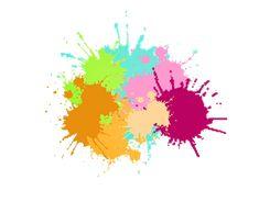 Manchas de pinturas vectorizadas - Imagui