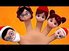 Santa Finger Family | Christmas Song | Xmas | Christmas Rhyme | Nursery Rhymes | Baby Song - YouTube Baby Songs, Baby Music, Family Christmas, Xmas, Kindergarten Songs, Finger Family, Nursery Rhymes, Disney Characters, Fictional Characters