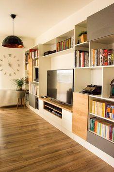 Rustic Entryway, Bookcase, Shelves, Living Room, Modern Design, Home Decor, Home, Shelving, Decoration Home