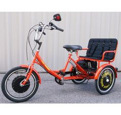 Electric Adult Tricycle Unique Trike With Adult child rider NEW Bicycle 6 speed Tricycle Bike, Adult Tricycle, Trike Bicycle, Electric Tricycle, Electric Scooter, Brushless Motor Controller, Velo Cargo, E Skate, Bike Trailer