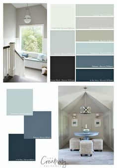 Ballard Designs Stormy Sky 1616 Benjamin Moore Small Area Maybe Powder Room Best Of