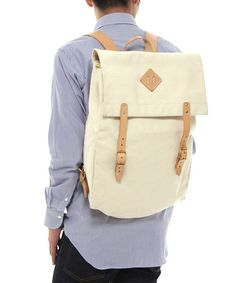 Selectism - McGarry Leather Canoe Backpack
