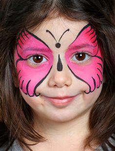 Enfant maquillée                                                                                                                                                                                 Plus